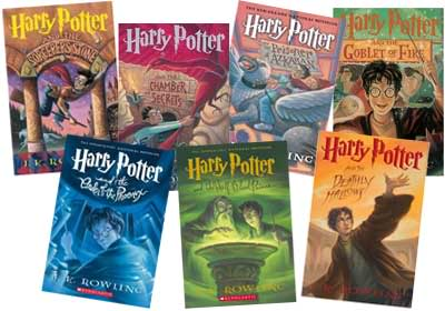 Harry Potter Series, JK Rowling