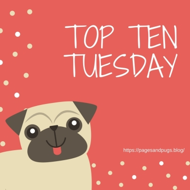 Blogmas Day 4 Top Ten Tuesday Cozywintry Reads Pages And Pugs