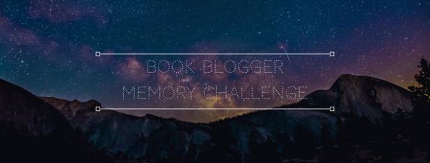Book Blogger Memory Challenge