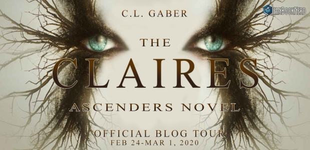 The Claires - An Ascenders Novel Tour Banner